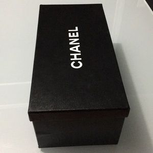 CHANEL empty shoe box 11.6 x 5.5 x 4.25 storage